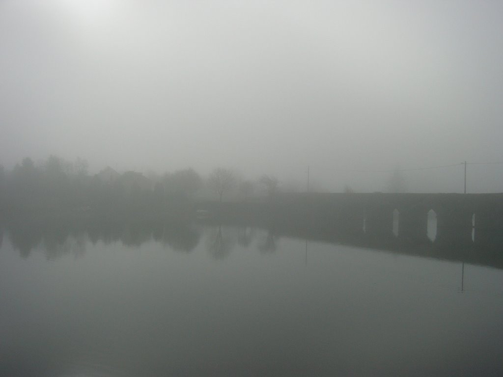 Misty Morning at the Bridge