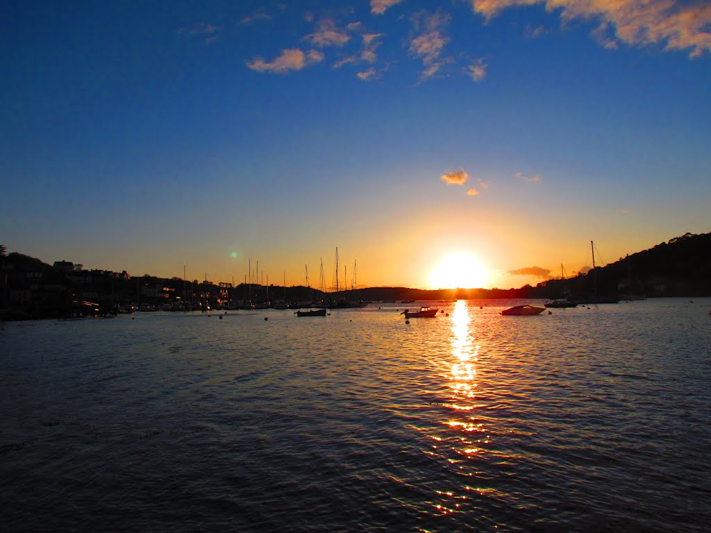 sunset in Crosshaven Ireland / zachod slonca Crosshaven Irlandia
