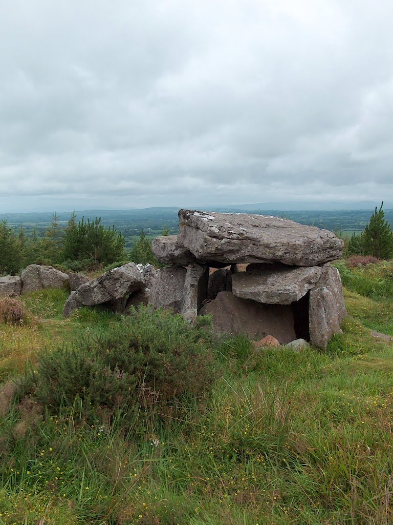 Megalithic tomb at Duntryleague, County Limerick, Ireland