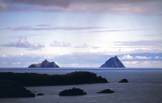 The Skellig Islands, Co Kerry, Ireland.