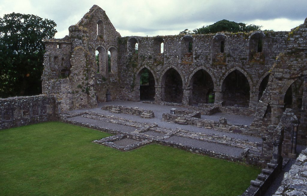 Jerpoint Abbey,Ireland