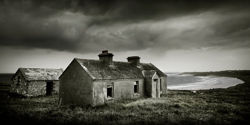 Abandoned Cottage, Mullet Pensula, Co Mayo, Ireland