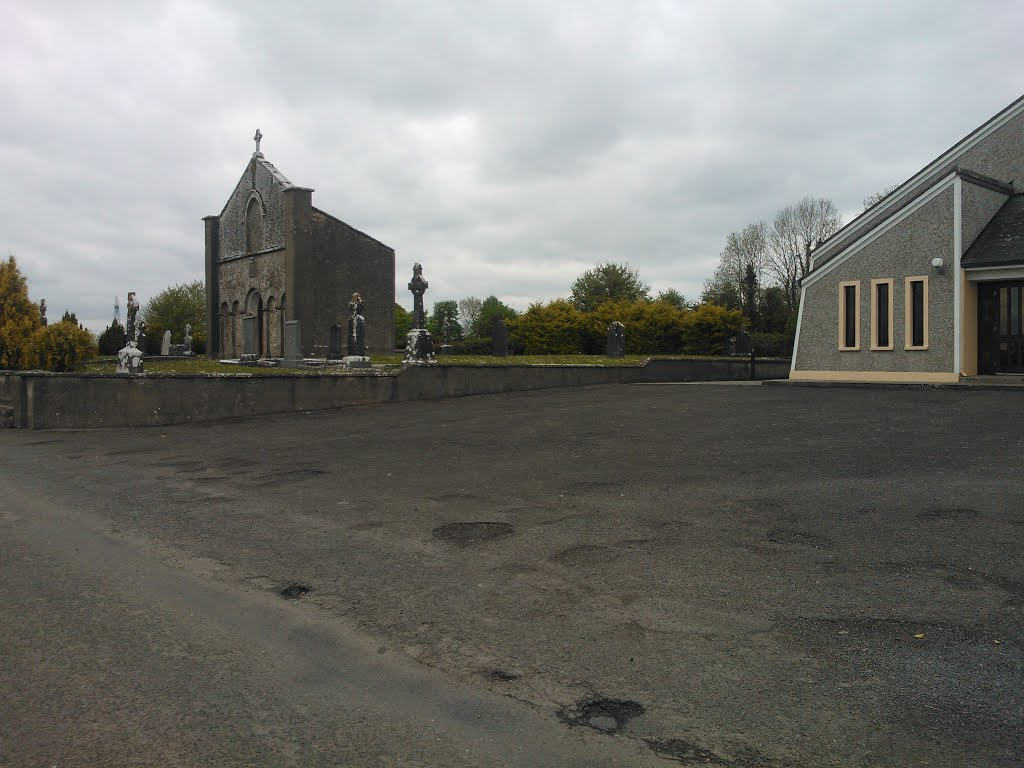 The old and the new - Erris, Co.Laois