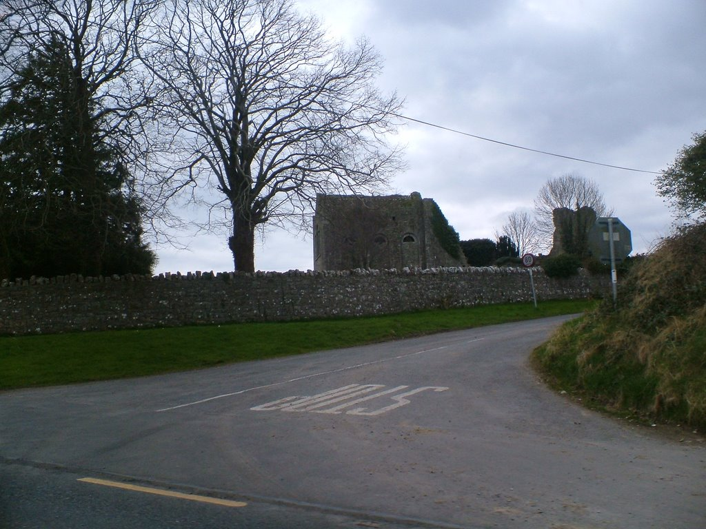 Ruined church Stradbally