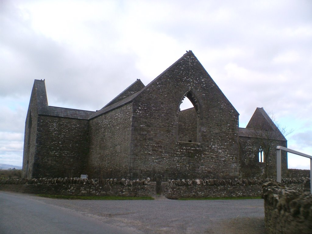 Aghaboe Abbey, a fourteenth century friary
