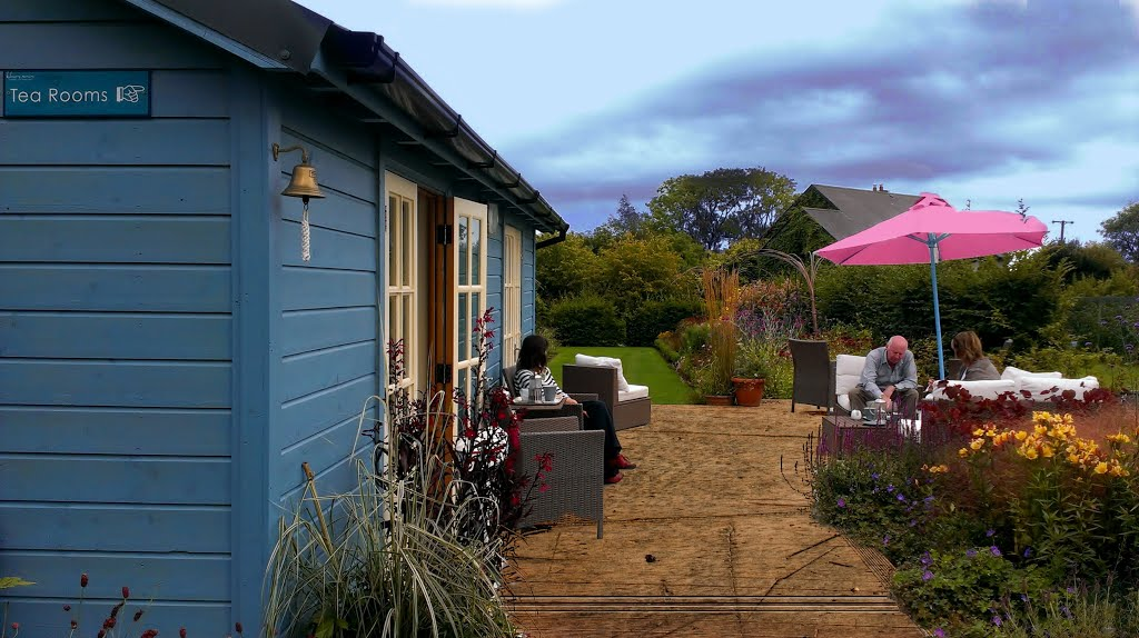 Tea room at Kilmurry Garden Centre, Ballymoney Co Wexford
