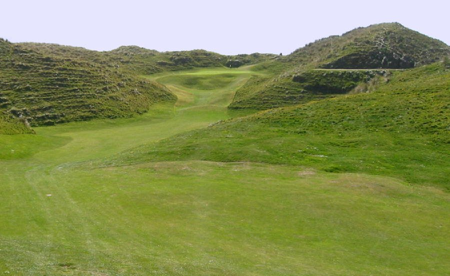 Ballybunion New Course - like a rollercoaster
