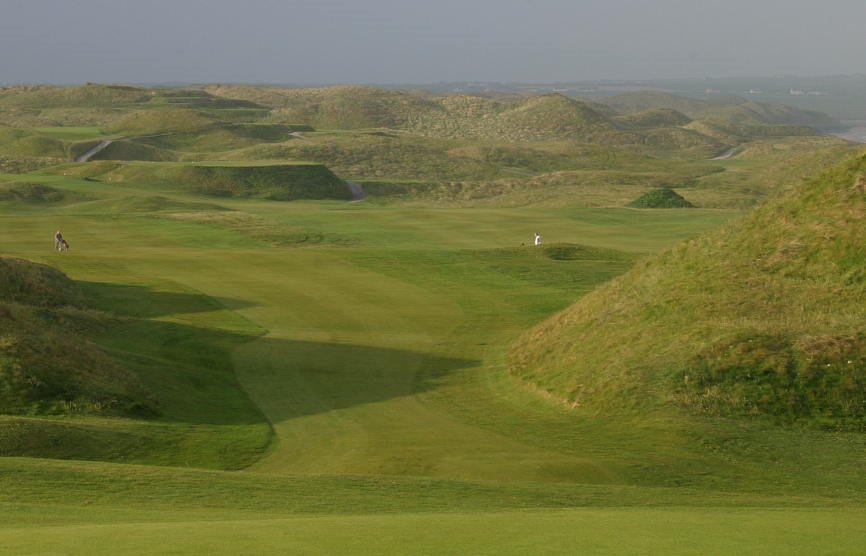 Ballybunion Old Course - this are real dunes !!!