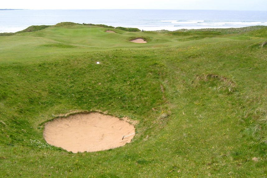Lahinch Golf Course - what a trap